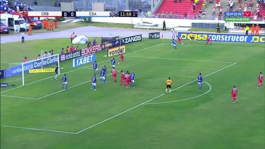 CRB x CSA - Campeonato Brasileiro Série B 2018 - globoesporte.com