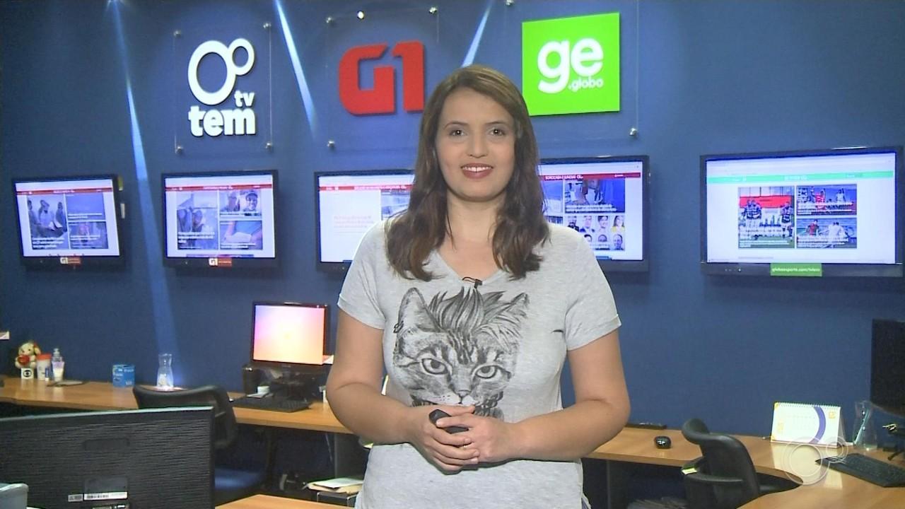 Paola Patriarca traz os destaques do G1 no Bom Dia Cidade desta terça-feira