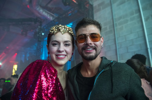 Sophia Abrahão e Rafael Vitti em 'As Five' (Foto: Estevam Avellar/Globo)