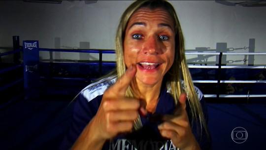 Da luta contra obesidade ao título mundial de boxe: a história de Rose Volante