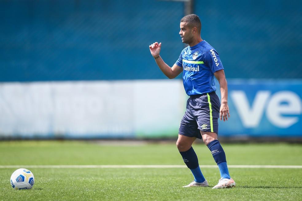 Alisson é um dos titulares da equipe de Felipao — Foto: Lucas Uebel/Grêmio