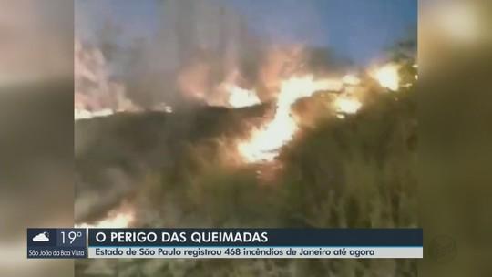 Analândia está entre as cidades de SP com mais queimadas, diz Inpe