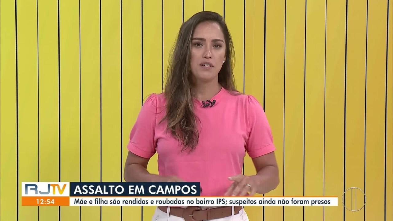 Mãe e filha são rendidas e roubadas no bairro IPS, em Campos; suspeitos estão foragidos