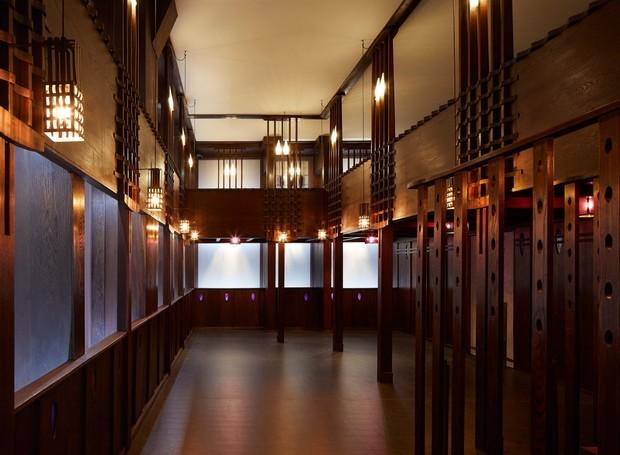 O Oak Room foi uma casa de chá desenhada pelo arquiteto Charles Rennie Mackintosh (Foto: Hufton + Crow/ Reprodução)