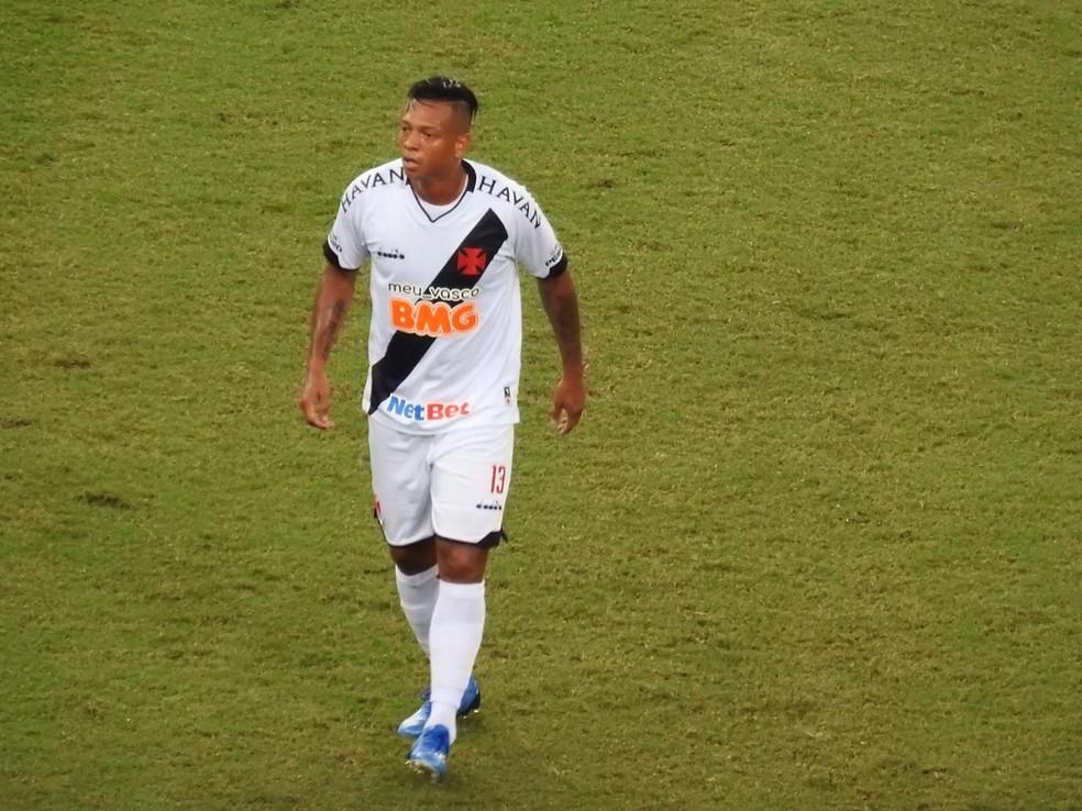 Guarín, do Vasco — Foto: Fred Gomes