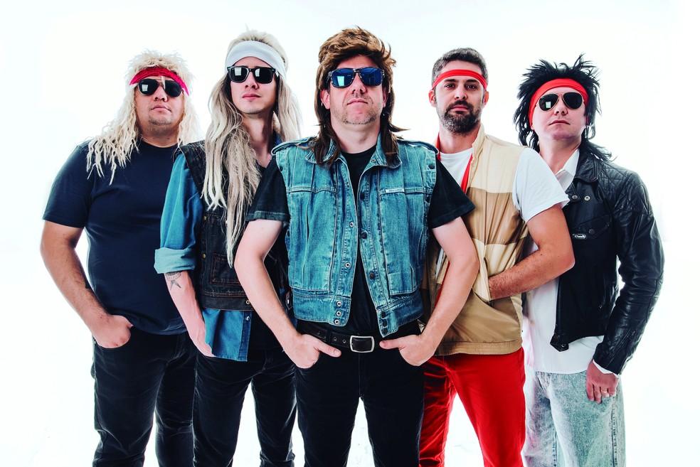 Banda De Rock Relembra Canções Que Marcaram A Década De 80