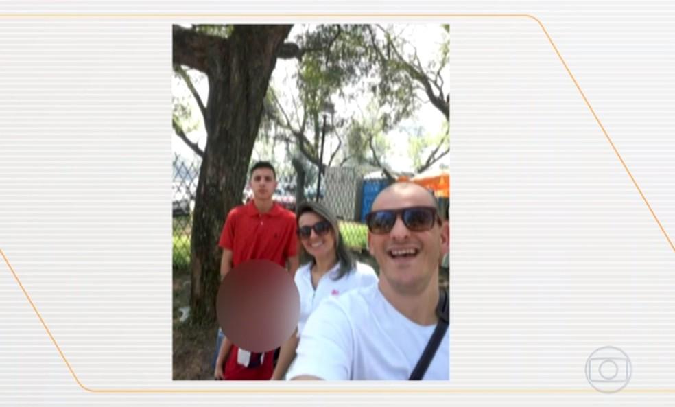 Família é morta no bairro Lami, na Zona Sul de Porto Alegre. — Foto: Reprodução/TV Globo