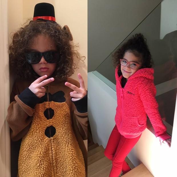 Moroccan e Monroe, filhos de Mariah Carey (Foto: Reprodução/Instagram)