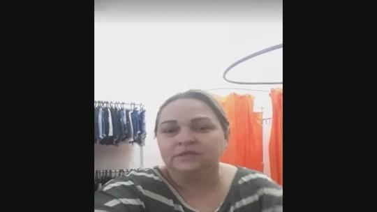 Antes de ser assassinada, comerciante de SC contou em vídeo que era ameaçada: 'Tão querendo me derrubar'