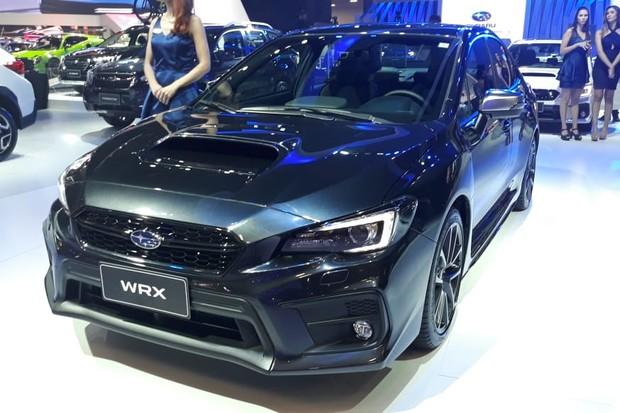 Subaru WRX finalmente ganhou configuração com caixa manual (Foto: Maria Clara Dias/Autoesporte)