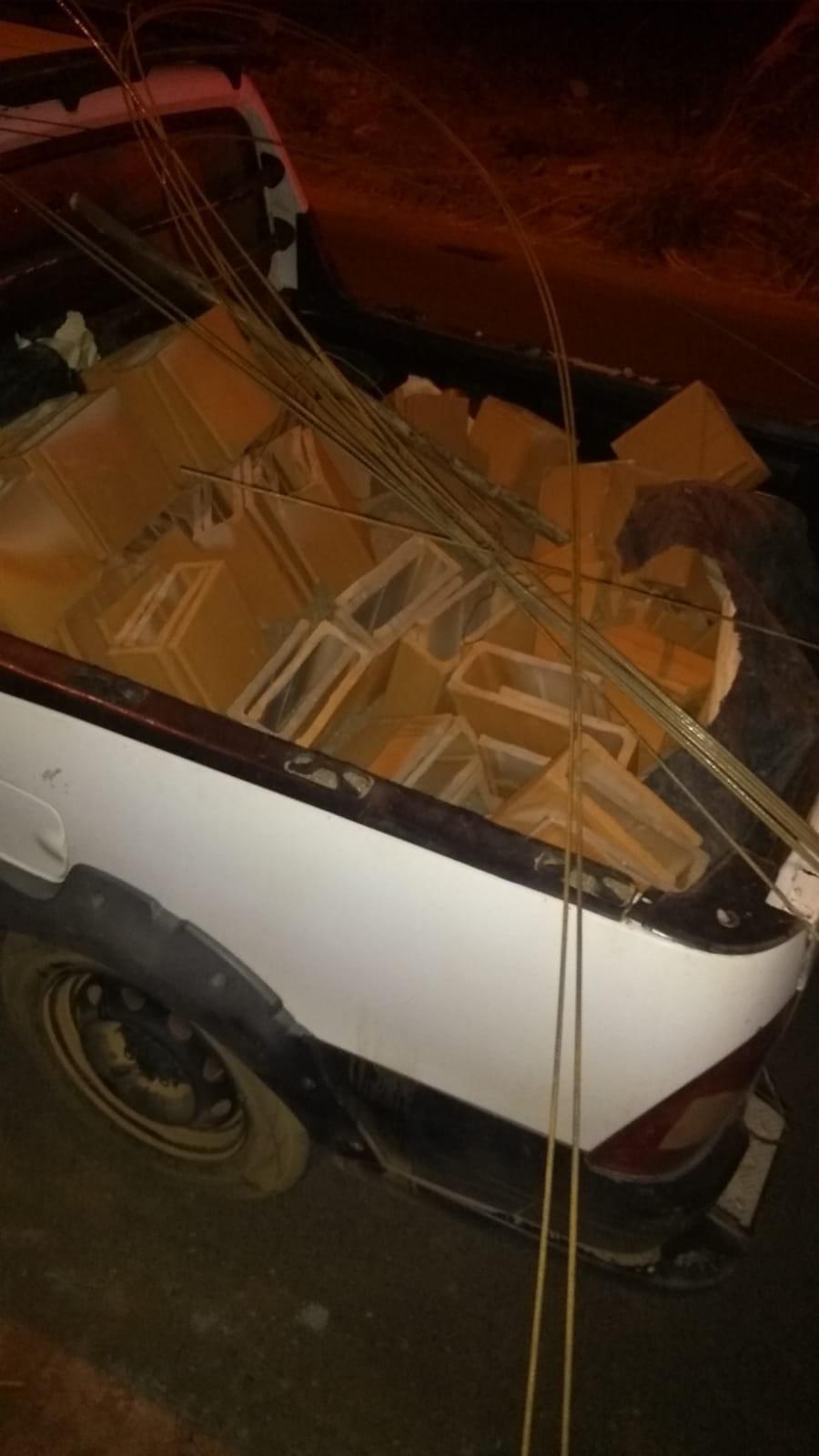Idoso é preso por furtar materiais de construção em obra em Patrocínio
