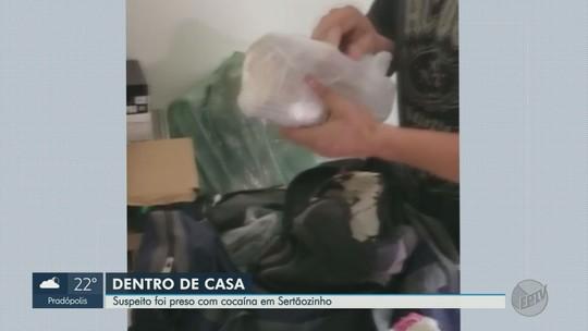Estudante é preso em flagrante com quatro quilos de cocaína em Sertãozinho, SP