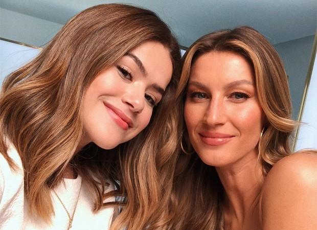 Maisa e Gisele Bündchen (Foto: Reprodução/Instagram)