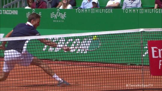 Confira ponto sensacional entre Medvedev e Djokoic pelo Masters 1000 de Monte Carlo