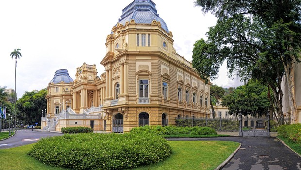 Palácio Guanabara, sede do governo do Rio de Janeiro (Foto: Reprodução/Facebook)