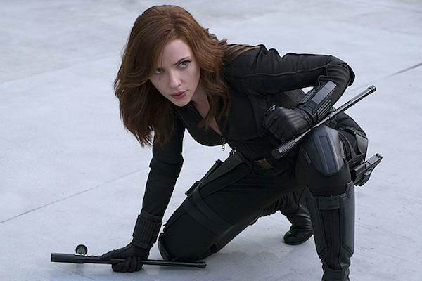 Scarlett Johansson no papel da Viúva Negra (Foto: Reprodução)
