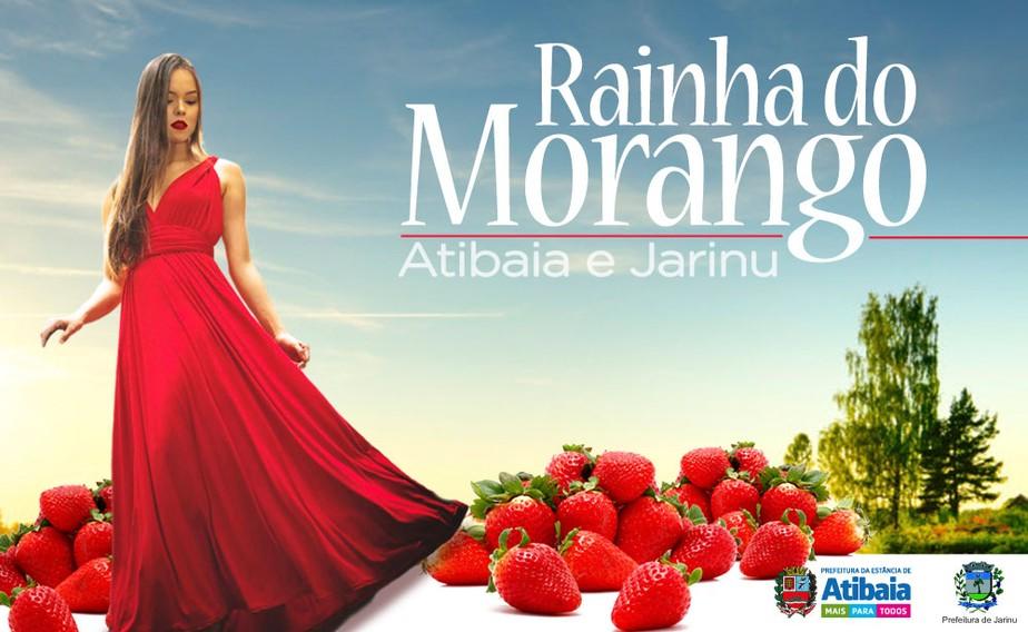 Participe do Concurso de Rainha e Princesas da Festa do Morango de Atibaia e Jarinu