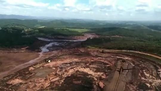 Responsável por barragem que rompeu em Brumadinho, Vale ainda responde na Justiça por desastre em Mariana