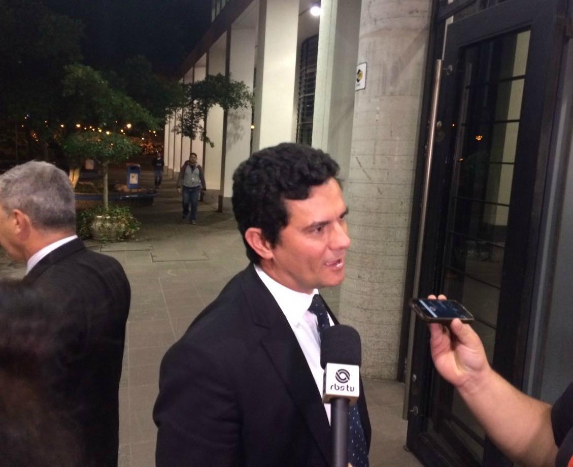 Moro ministra aulas de direito e crimes financeiros em Porto Alegre