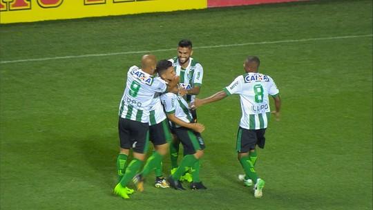 Veja os lances de América-MG 1 x 0 Vila Nova-GO