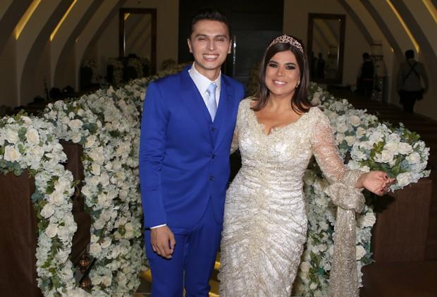 Mara Maravilha e Gabriel Torres (Foto: Thiago Duran/AgNews)