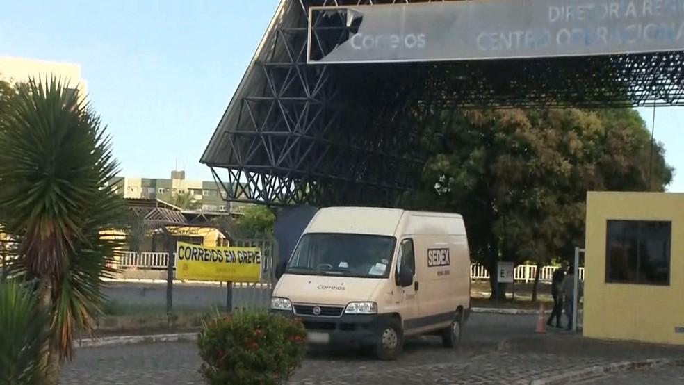 Greve dos Correios começa nesta quarta-feira (11), na Paraíba — Foto: Reprodução/TV Cabo Branco