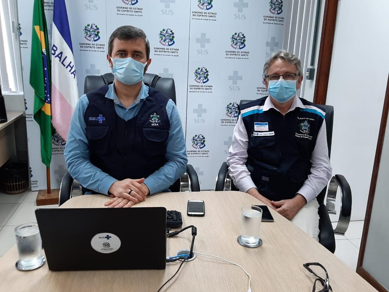 Secretário de Saúde prevê abertura de mais de 100 leitos de UTI para Covid-19 no ES