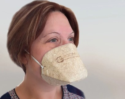 Empresa francesa cria máscaras contra a Covid-19 com fibras de cannabis