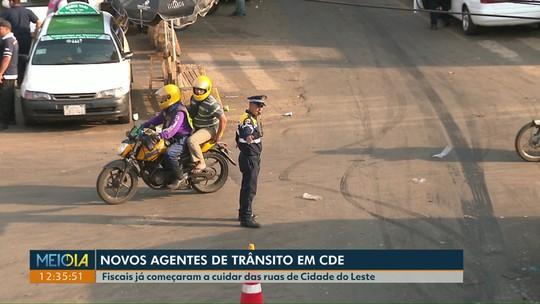 Cidade Leste tem novos agentes para cuidar do trânsito da cidade