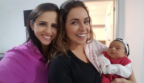 Giovanna, Daniela e Mel (Foto: Instagram/Reprodução)