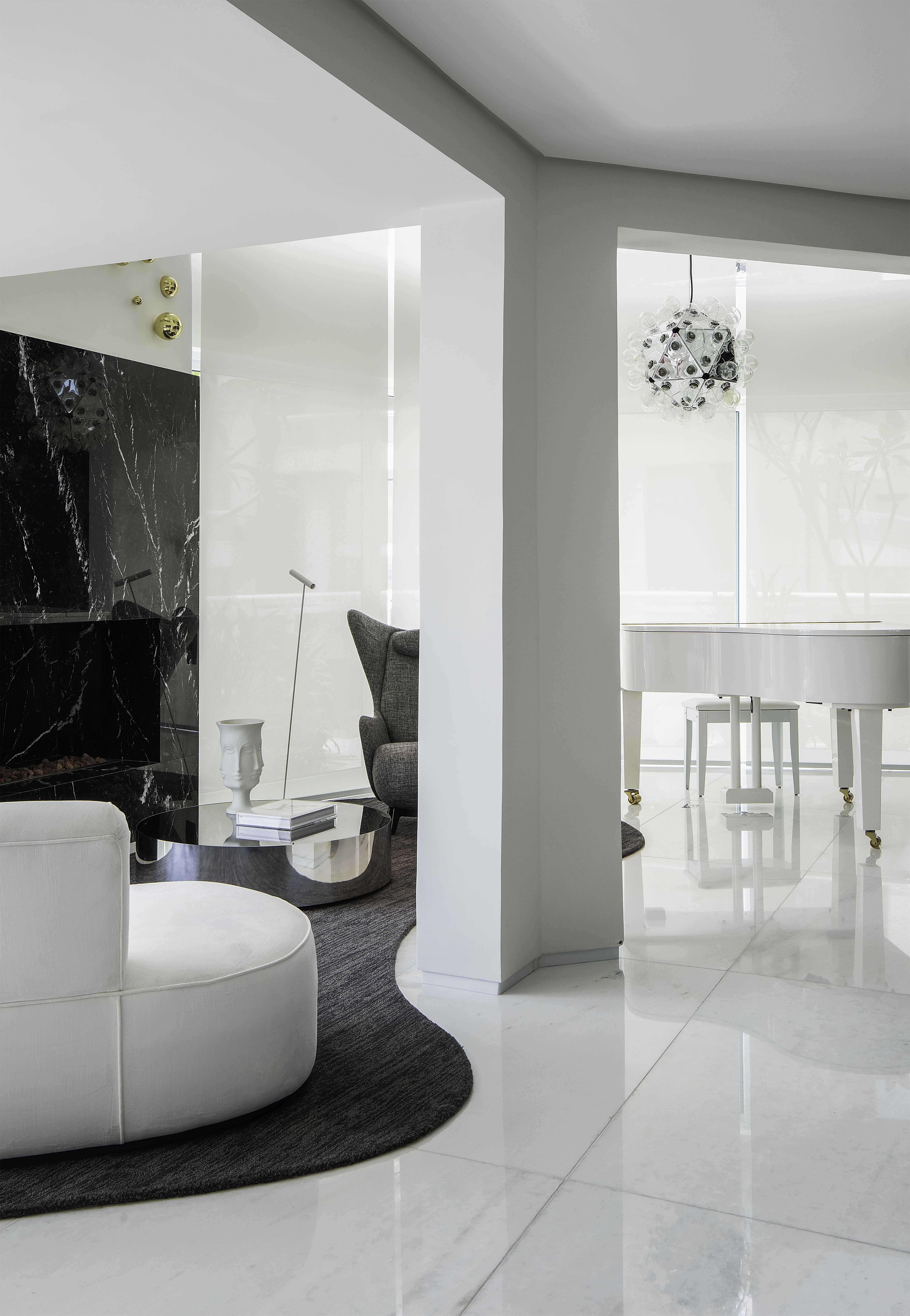 Alok e Romana Novais abrem dúplex de 370 m² em São Paulo (Foto: Raphael Briest)