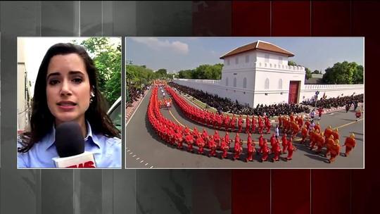 Restos mortais de rei da Tailândia têm descanso final após cinco dias de cerimônia