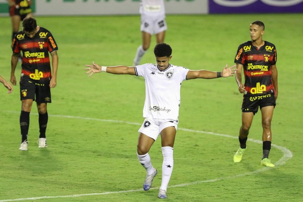 Sport x Botafogo pela Série A do Brasileiro — Foto: Marlon Costa / Pernambuco Press