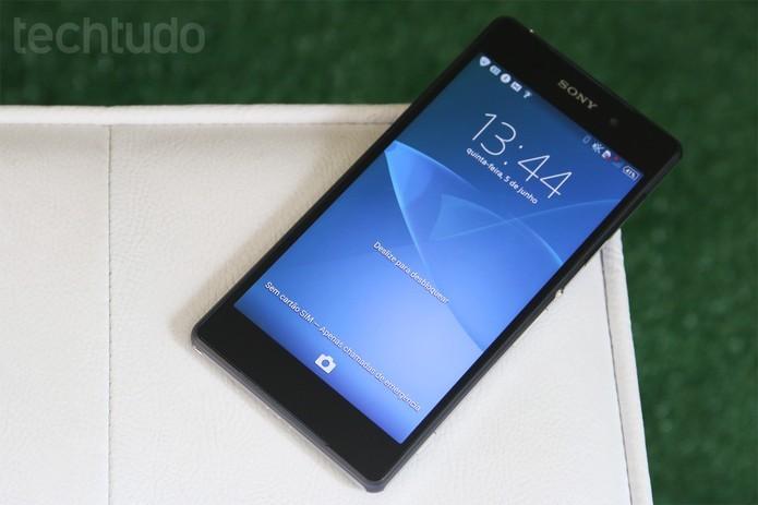 Xperia Z2 e Xperia Z2 Tablet começam a receber Android 4.4.4 com recursos do Z3 (Luciana Maline/TechTudo)