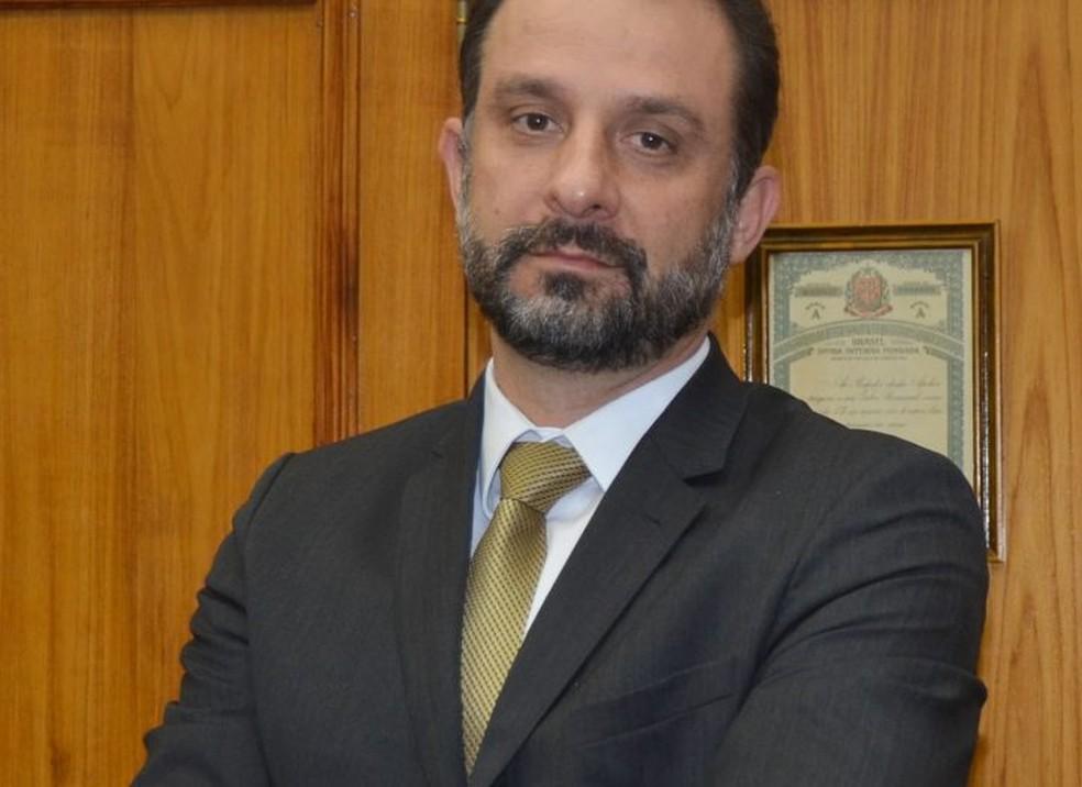 Secretário de Fazenda, Luiz Claudio Rodrigues — Foto: Divulgação