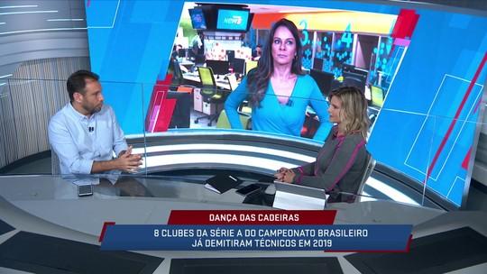 Mesa fala sobre a constante troca de técnicos no futebol brasileiro