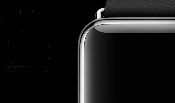 Tela do Apple Watch é revestida com vidro de safira (Foto: Divulgação/Apple)