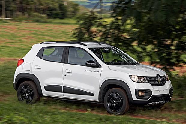 Renault Kwid Outsider (Foto: Marcos Camargo)