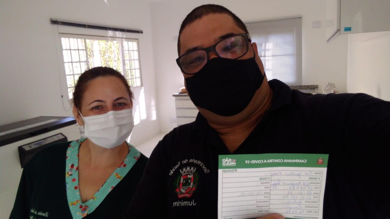 Menor município da região, Jumirim recebe 24 doses da CoronaVac e finaliza vacinação em dois dias