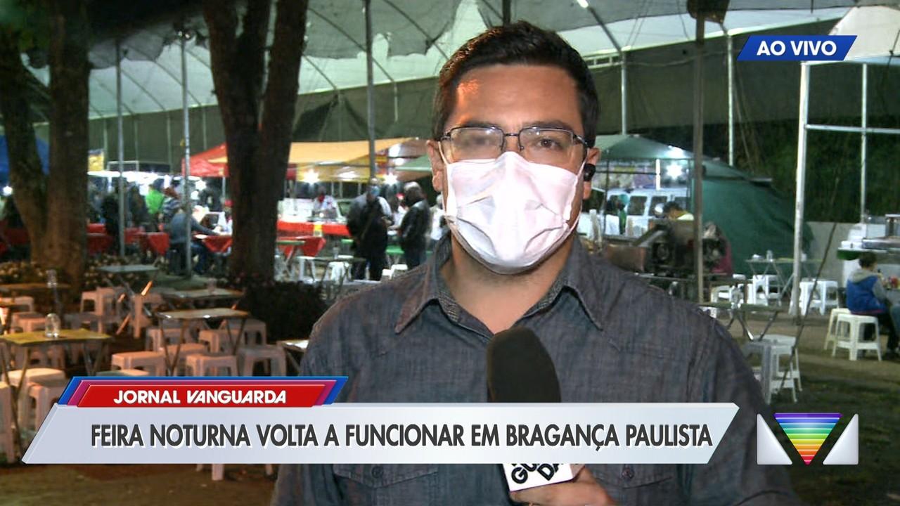 Bragança Paulista retoma feira norturna