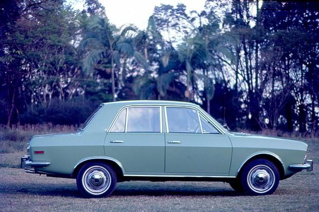Ford Corcel 1971 (Foto: Claudio Larangeira / Acervo Autoesporte)