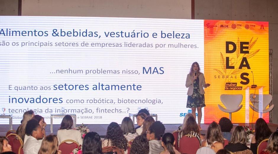 Lançamento do Projeto Sebrae Delas Mulher de Negócios (Foto: Darío G Neto ASN BA)