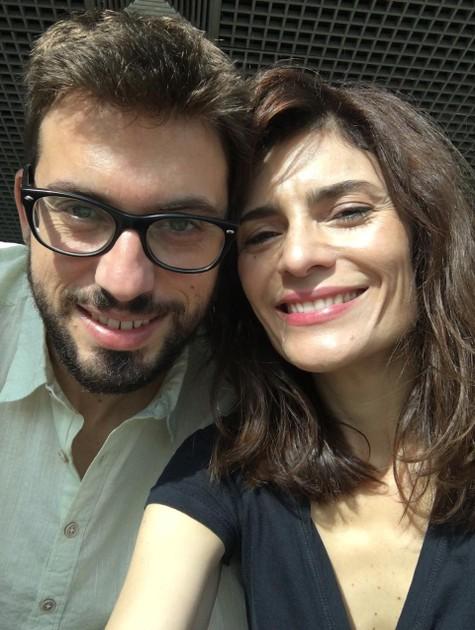 Arieta Corrêa e o namorado, Pedro (Foto: Arquivo pessoal)