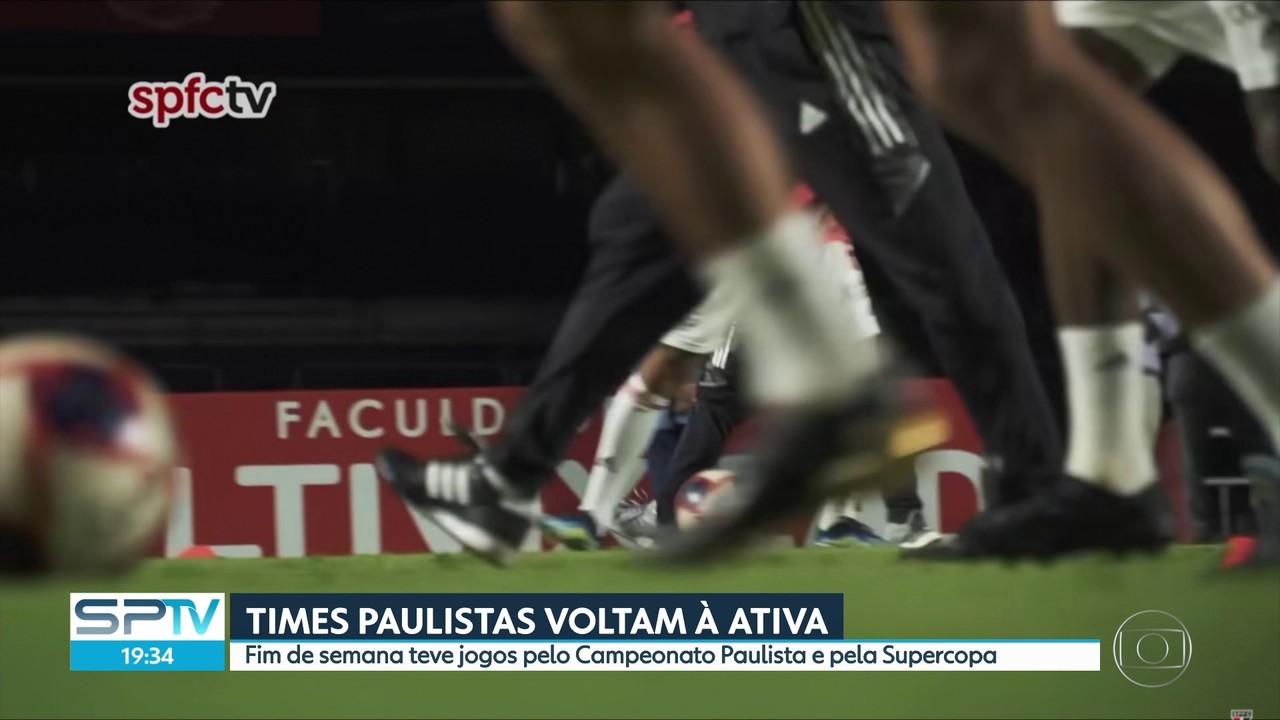 Futebol paulista voltou à ativa no fim de semana