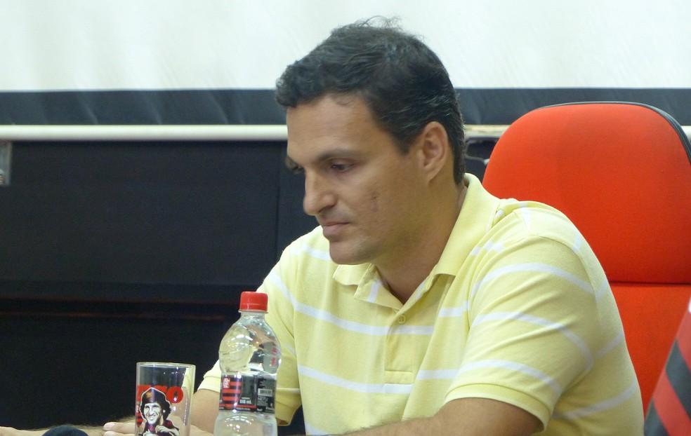 Bruno Spindel deixa gerência de marketing do Flamengo, para substituir Fred Luz como diretor geral do clube (Foto: Vicente Seda)