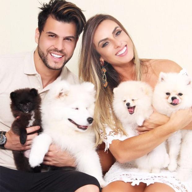 Nicole Bahls e Marcelo Bimbi (Foto: Reprodução/Instagram)