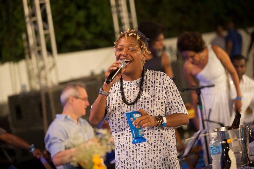 Mart'nália  participa de roda de samba no DF  — Foto: Felipe Panfili/Divulgação