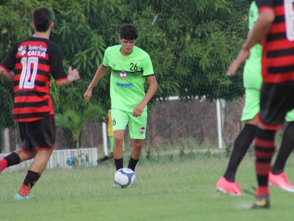 River-PI x Flamengo-PI - Amistoso sub-20 — Foto: Victor Costa/River AC