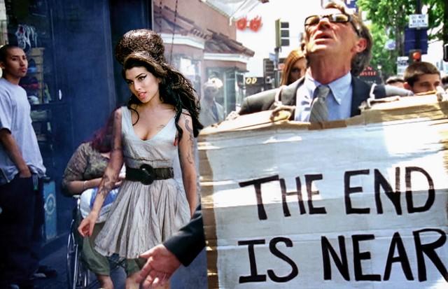 Amy Winehouse também já foi personagem de seus cliques lúdicos (Foto: Divulgação)