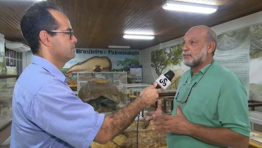 No Acre, laboratório reúne mais de 6 mil fósseis de animais que viveram entre 5 e 8 milhões de anos na Amazônia